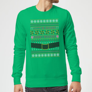 Elf Christmas Sweatshirt - Kelly Green