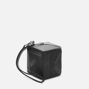 KENZO Women's Pebble Leather Coin Purse - black