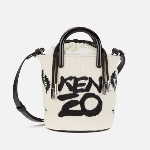 KENZO Women's Mini Tote Bag - White