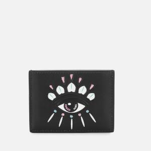 KENZO Women's Eye Card Holder - Black