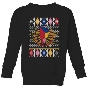 Power Rangers Kids' Christmas Sweatshirt - Black