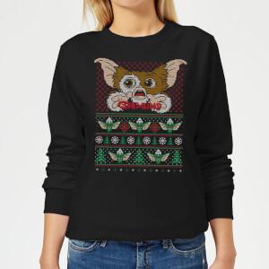 Felpa Gremlins Ugly Knit Christmas - Nero - Donna
