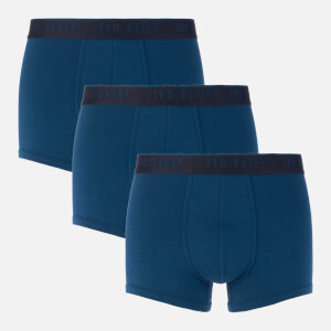 Ted Baker Men's 3 Pack Trunk Boxer Shorts - Poseidon