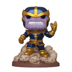 Marvel - Thanos EXC Metallizzato 6'' Figura Funko Pop! Vinyl
