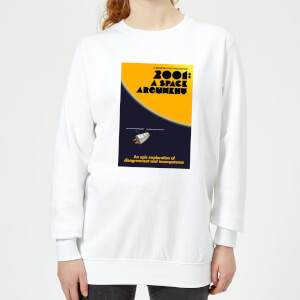 Modern Toss Space Argument Women's Sweatshirt - White