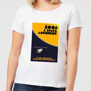 Modern Toss Space Argument Women's T-Shirt - White