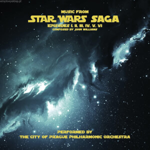 Music from Star Wars Saga 2x LP