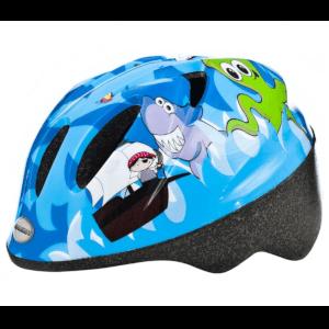 Raleigh Rascal Boys Cycle Helmet Pirate - Blue - 44-50cm