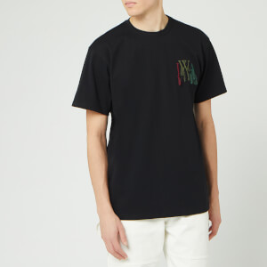 JW Anderson Men's Logo Embroidery T-Shirt - Black