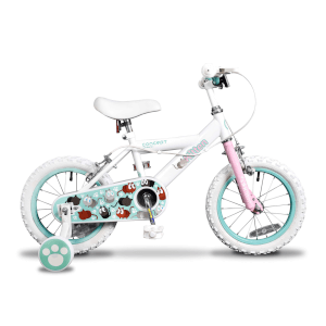 "Insync Kitten 14"" Wheel Girls Bicycle - 9"""