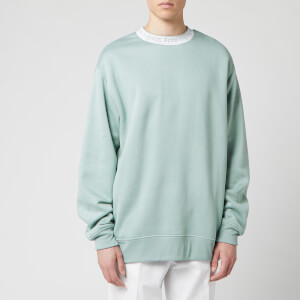 Acne Studios Men's Logo Crewneck Sweatshirt - Cold Grey