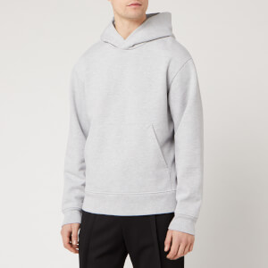 Acne Studios Men's Classic Fit Hooded Sweatshirt - Pale Grey Melange