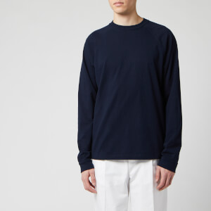 Acne Studios Men's Reverse Label Long Sleeve T-Shirt - Navy Blue