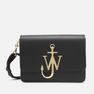 JW Anderson Women's Anchor Logo Bag with Braided Strap - Black