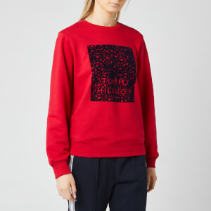 Tommy Hilfiger Women's Stacy Crew Neck Sweatshirt - Primary Red