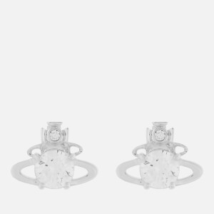 Vivienne Westwood Women's Reina Earrings - Rhodium White