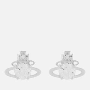 Vivienne Westwood Women's Reina Earrings - Rhodium White