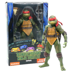 "NECA Teenage Mutant Ninja Turtles 7"" Figure 1990 Movie Raphael"
