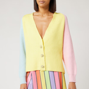 Olivia Rubin Women's Tally Cardigan - Yellow