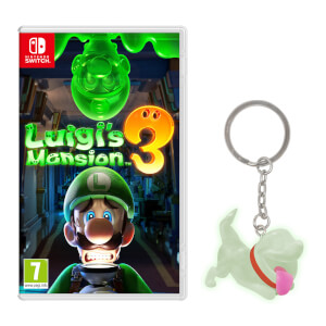 Luigi's Mansion 3 & Polterpup Keychain Pack