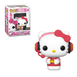 Figura Funko Pop! - Hello Kitty Gamer Exclusivo - Sanrio