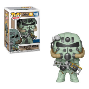 Fallout - 76 T-51 Power Armor Green EXC Figura Funko Pop! Vinyl