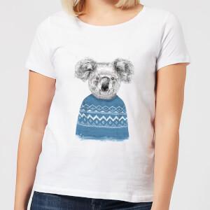 Winter Koala Women's T-Shirt - White