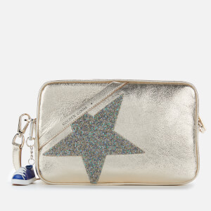 Golden Goose Deluxe Brand Women's Star Cross Body Bag - Gold/Crystal