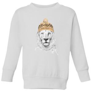 Winter Is Here Kids' Sweatshirt - White