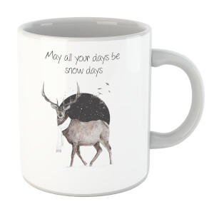 Balazs Solti May All Your Days Be Snow Days Mug