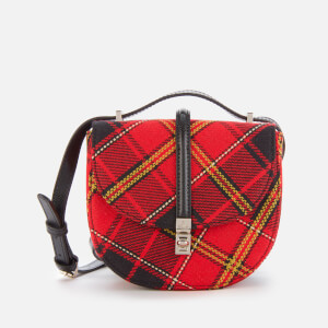 Vivienne Westwood Women's Special Sofia Mini Saddle Bag - Red/Black