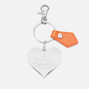 Vivienne Westwood Women's Windsor Mirror Heart Gadget - Orange