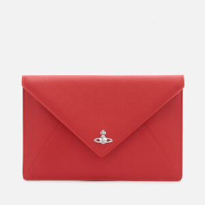 Vivienne Westwood Women's Victoria Envelope Clutch - Red