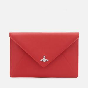 Vivienne Westwood Women's Victoria Envelope Clutch - Red