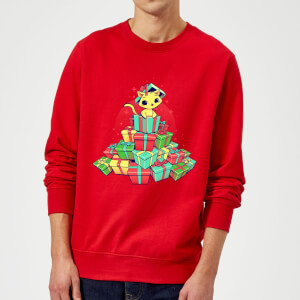 Tobias Fonseca Tons Of Xmas Gifts Sweatshirt - Red