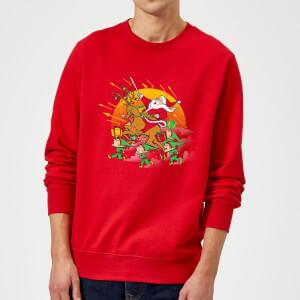 Tobias Fonseca Xmas War Sweatshirt - Red