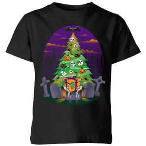 Tobias Fonseca Halloween Is My Xmas Kids' T-Shirt - Black