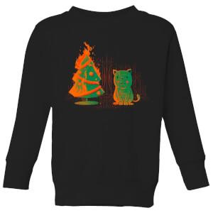 Tobias Fonseca Xmas Miracle Kids' Sweatshirt - Black