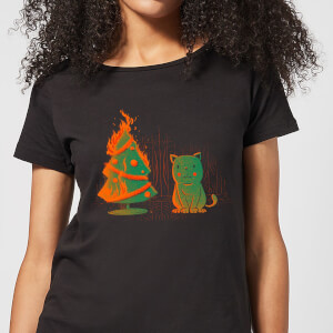 Tobias Fonseca Xmas Miracle Women's T-Shirt - Black