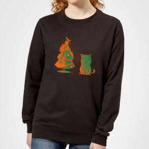 Tobias Fonseca Xmas Miracle Women's Sweatshirt - Black