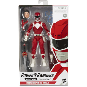 Hasbro Power Rangers Lightning Collection Mighty Morphin Lightning Collection Mighty Morphin Red Ranger 6 Inch Action Figure