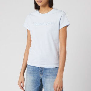 Helmut Lang Women's Standard Baby T-Shirt - Glacier