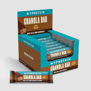 Myprotein Protein Granola Bars, Milk Tea Dark Chocolate, 12 x 45g Bars