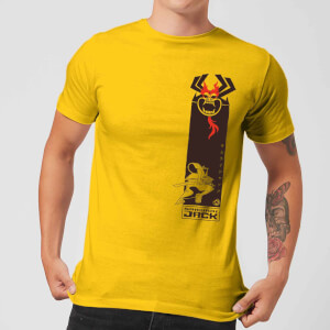 Samurai Jack Samurai Stripe Men's T-Shirt - Yellow