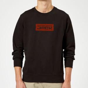Samurai Jack Classic Logo Sweatshirt - Black