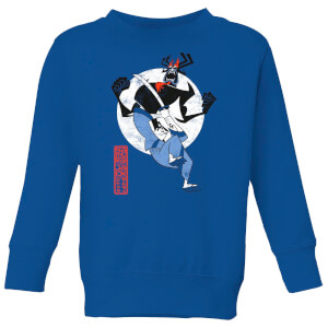 Samurai Jack Eternal Battle Kids' Sweatshirt - Royal Blue