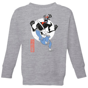Samurai Jack Eternal Battle Kids' Sweatshirt - Grey