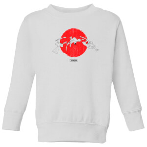 Samurai Jack Sunrise Kids' Sweatshirt - White