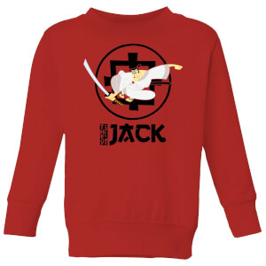 Samurai Jack They Call Me Jack Kids' Sweatshirt - Red