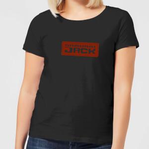 Samurai Jack Classic Logo Women's T-Shirt - Black